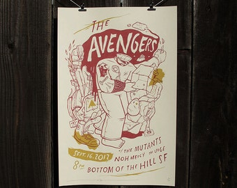 Avengers 2012 Reunion Show, w/ The Mutants, Noh Mercy, and The Urge. Bottom of the Hill, SF