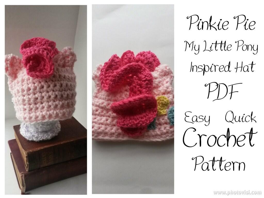 Crochet Pony Hat Pattern Crochet Hat Pattern
