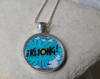 Kliong Word Comic Necklace