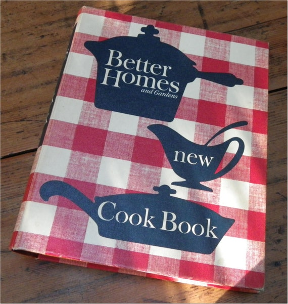 Better Homes And Gardens New Cookbook 1965 Vintage Retro