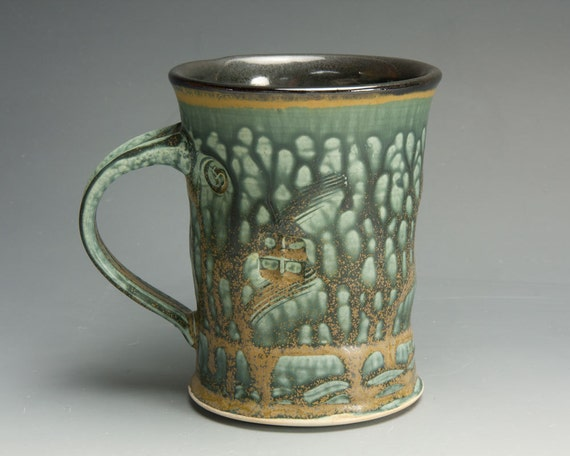Sale Handmade Mug Stoneware Beer Stein Coffee Mug 20oz 1234