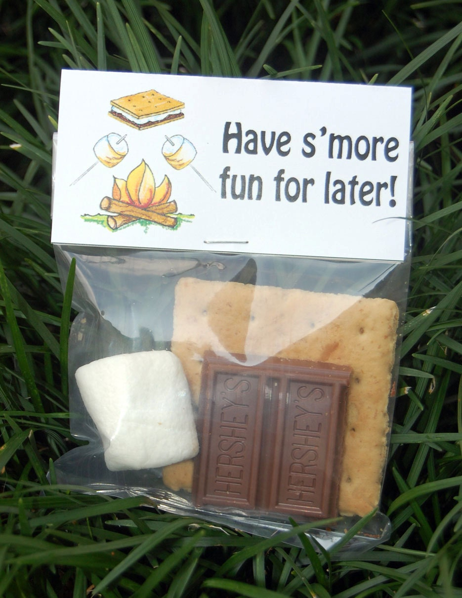 S'more Treat Bag Toppers ~ Printable gift labels from ...