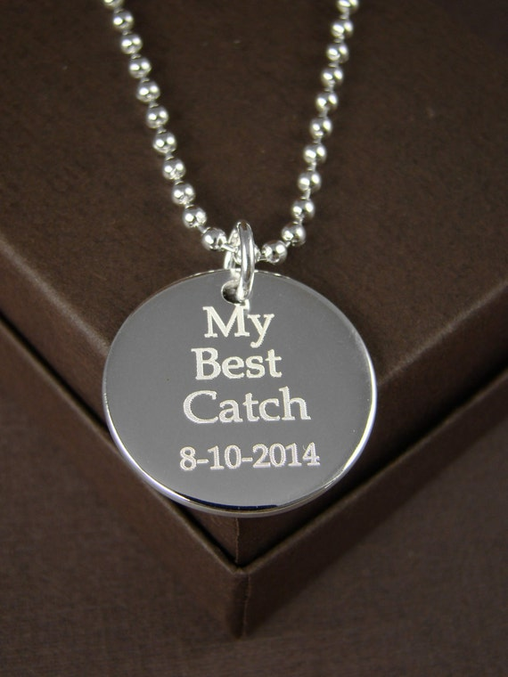 items similar to gift for him personalized necklace for
