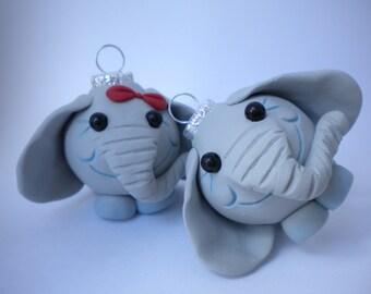 Elephants Mini Ornaments