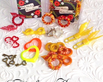 Stitch Markers Autumn Collection Finders Keepers