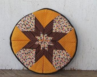 Vintage Fabric Trivet