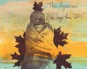 The Agrarians - Love Songs from 2011 - dttr038 CD-R
