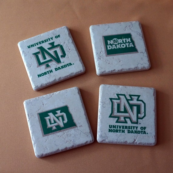 UND - University of North Dakota Coasters