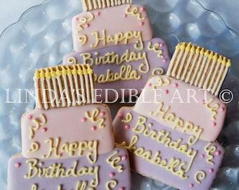 Birthday Girl Cookie (1 Dozen)