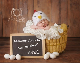 The Little Chicken - Newborn Size, Made To Order
