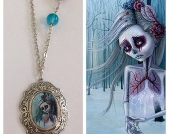 Beautiful decay of life necklace