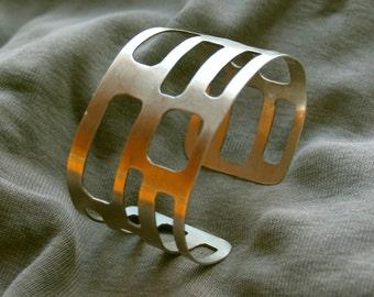 Brass bracelet 'Manhattan'