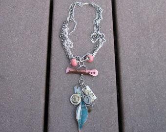 Industrial Trinket Necklace