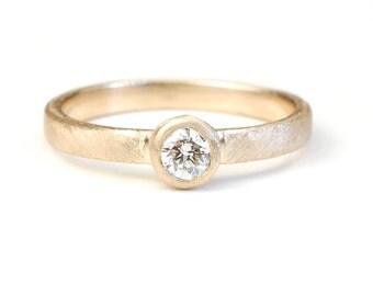 Engagement Ring, Diamond Ring, Diamond Engagement Ring, Solitaire, Diamond Solitaire, Diamond, Stacking Ring, Rose Cut Diamond, Modern,Nixin