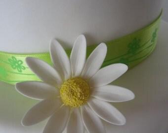edible sugar daisies  set of 10