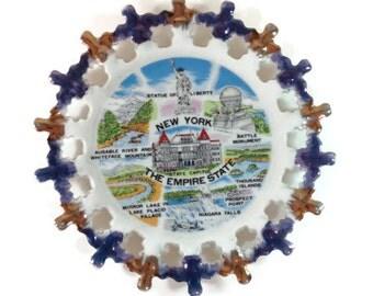 New York Souvenir Travel Plate