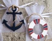 Nautical baby shower Favor bags, Nautical birthday, Nautical boat, Sailboat party favor, Nautical table decoration, Nautical 1st Birthday