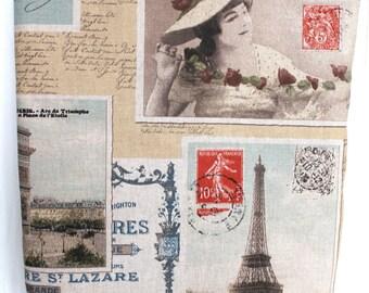 Vintage design ,Eiffel Tower,Paris ote bag,school bag,diaper bag,shoulder bag,back to school