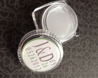 Wedding Favor Party Favor Personalized lip balm bridal shower