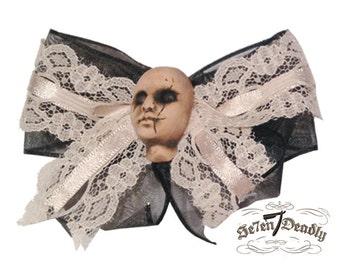 Repent Doll Head Hair Bow