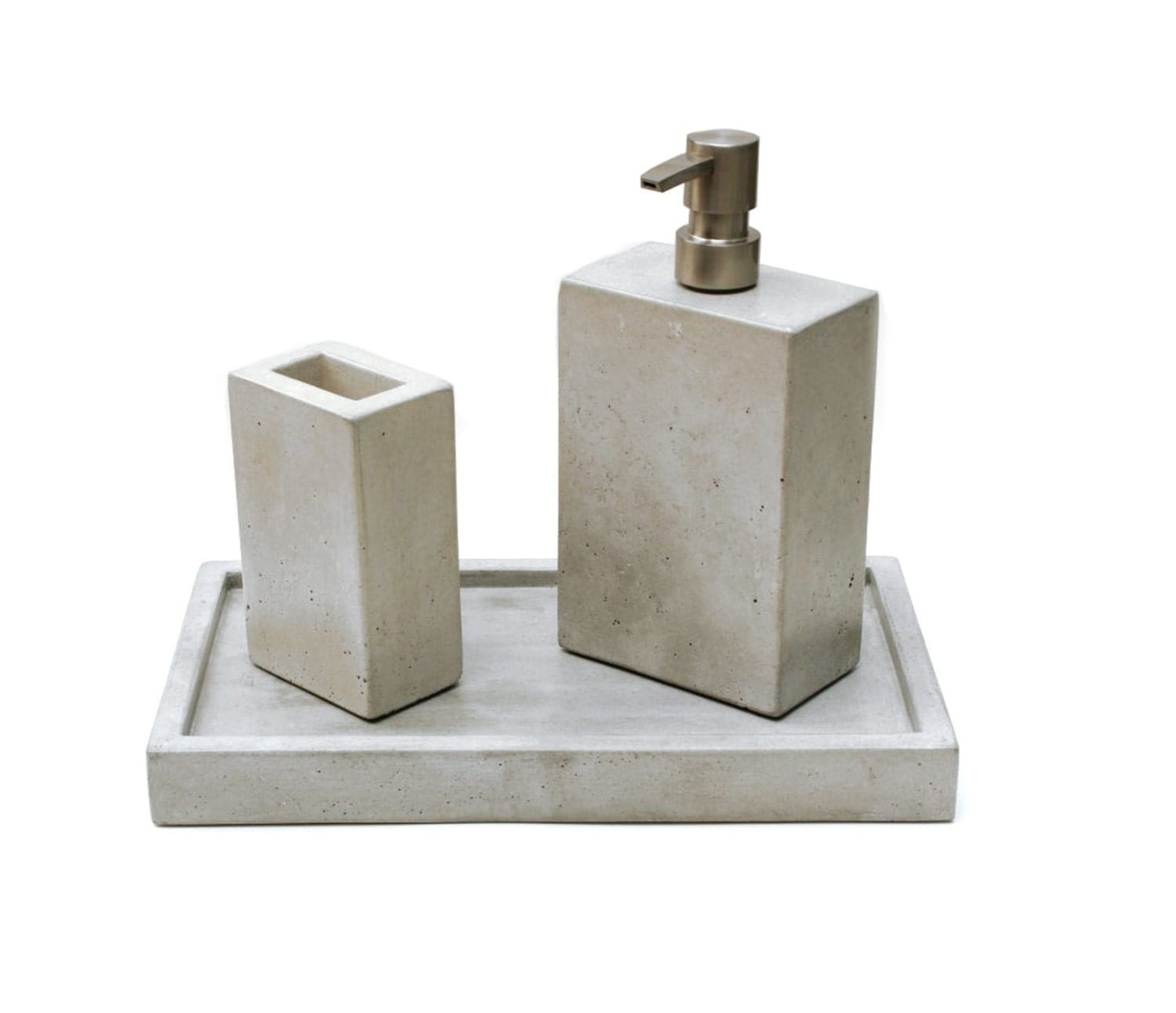 Concrete Bath Set