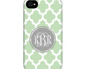 Personalized IPhone, IPad, Samsung cases monogram choice of colors Iphone, IPhone4, IPhone5, Iphone6