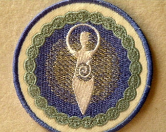 Divine Mother Iron on Patch- 3.5""