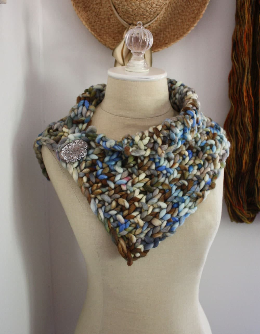 Knitting Pattern / Super Chunky Bulky Cowl Neckwarmer