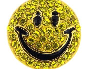 Happy Face Lapel Pin 1000261