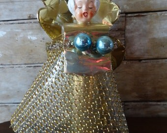 Vintage Retro Angel Topper Lovely Unique 1940's or 50's