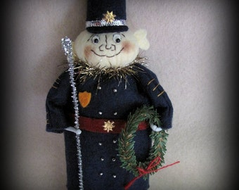 The Policeman KIT Palmer Cox Brownie Ornament Collection by cheswickcompany