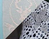 Two PDF Crochet Patterns - Deer Wall Hanging and Crochet Bike Seat Cover