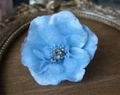 Cute   velvet beaded flower