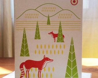 Fox Hills Notecard