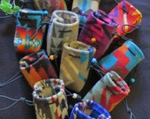 12 Pouches Medicine Bags Case Coin Change Purses Gift Bag Party Favors - Wool from Pendleton OR 3 x 3.5