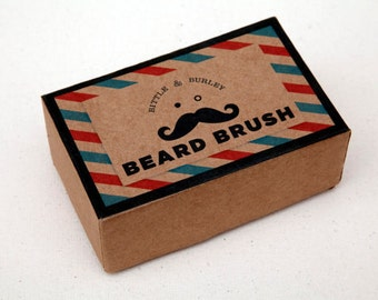 The Original Beard and Mustache Brush