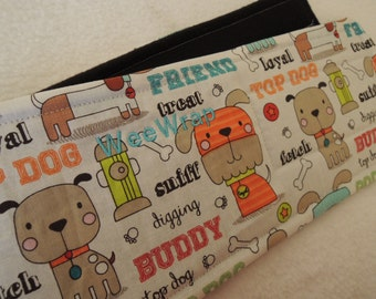 Top Dog Fabric Dog Diaper Belly Band, Stops Marking,  Personalized