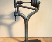Canedy Otto No 24 Antique Drill Press / Vintage Industrial Antique Tool / Industrial Artifact / Industrial Object / Industrial Relic / Parts