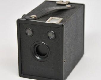 VINTAGE Ansco B-2 Cadet 120 Box Camera, Working