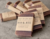 Unscented Rustic Wedding Favors - Homemade Soap Favors,  Bridal Shower Favors, Baby Shower Favors, Mini Soap Favors