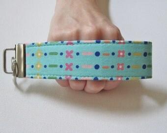 Key Fob Wristlet- In Stitches