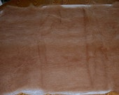 "HALF PRICE Brown 100% Alpaca for Felting Natural Undyed Carded Batt 9.3 Ounces  Approx. 44 "" by 32 "" ( More Available )"