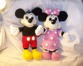 Crochet Mickey OR Minnie Mouse