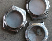 Mens Wrist Watch Cases -- set of 3 -- D6