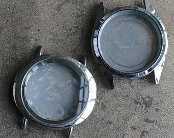 Wrist Watch Cases -- set of 2