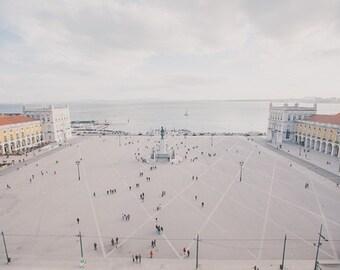 Portugal Photos, Travel Photography, Lisbon Photos, Architecture, European Photography, European Square, People, Urban Photography, Street