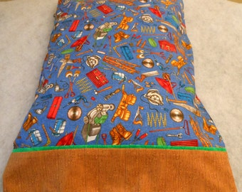 Pillow Case Mr or Ms Fix It King Size