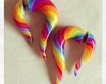 Fakers - Tiny Hooks - Rainbow - Faux Gauges