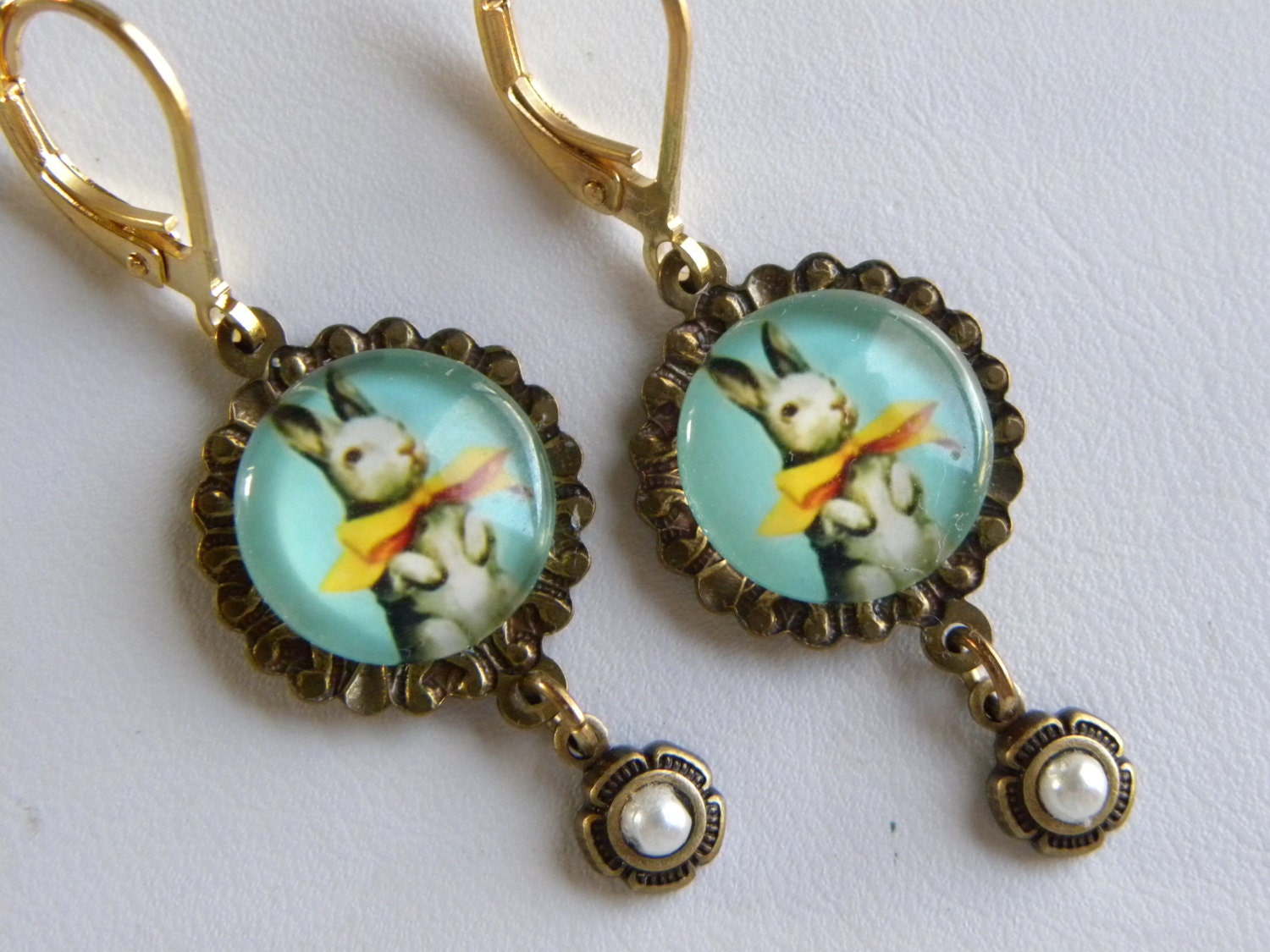 bunny earrings rabbit earrings easter bunny earrings bunny rabbit 3652