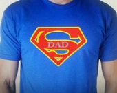 Super Dad-gifts for him- Super Hero T-Shirt-superhero-dad to be-novelty-fathers day gift-best dad gift-graphic tees-comic clothing